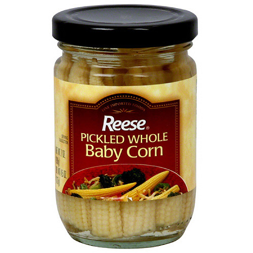 Reese Pickled Whole Baby Corn, 7 oz (Pack of 6)