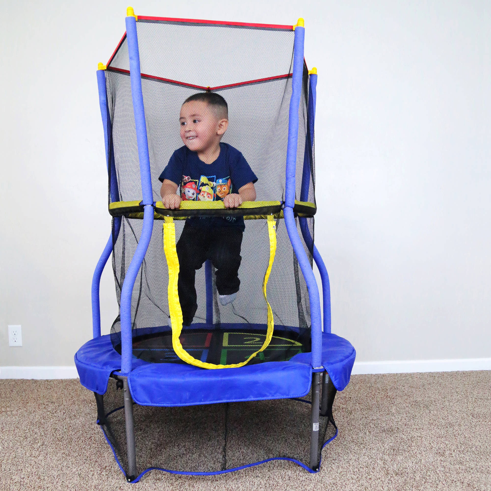 "Skywalker Trampolines Bounce-N-Learn 40"" Trampoline with Enclosure"