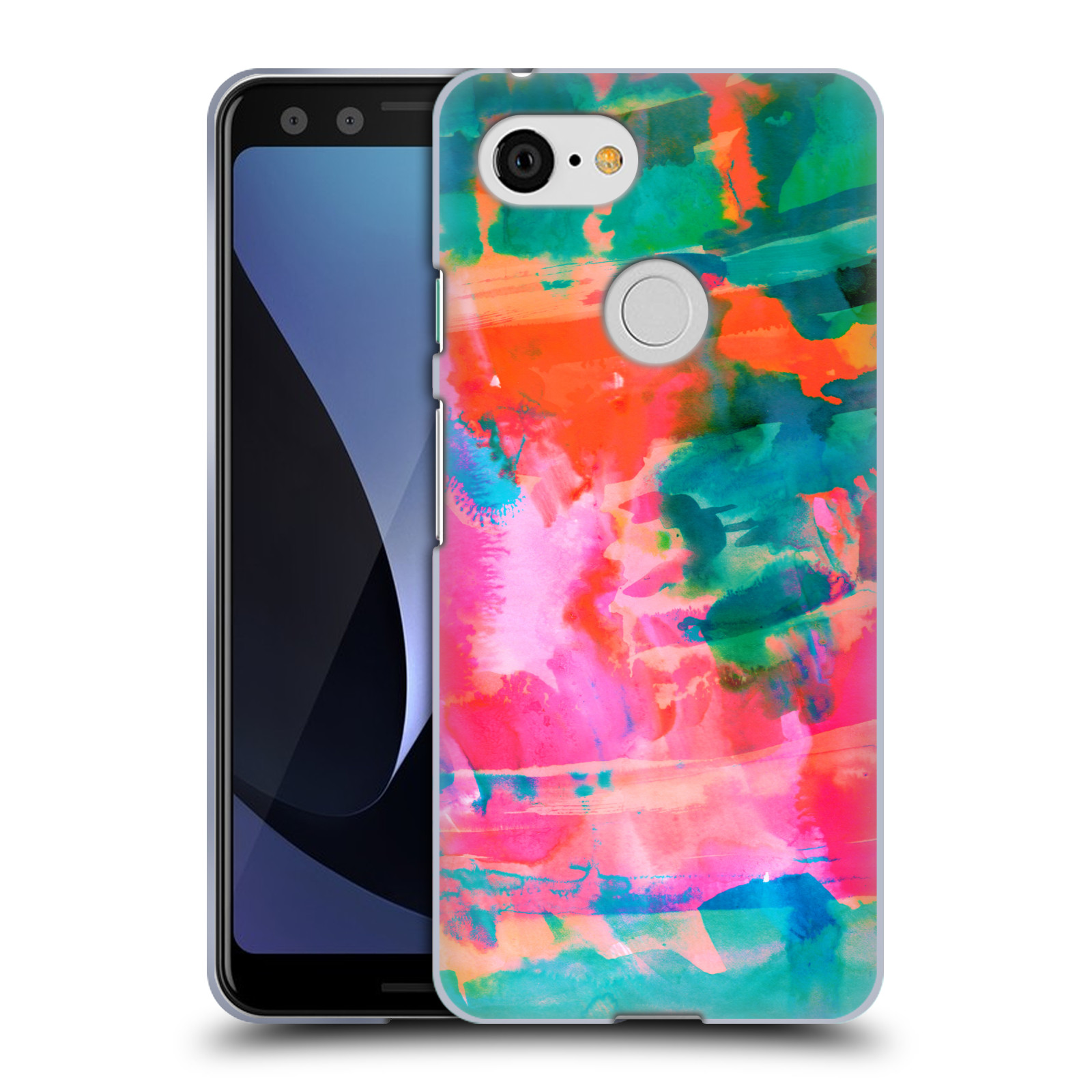 OFFICIAL AMY SIA ABSTRACT COLOURS SOFT GEL CASE FOR AMAZON ASUS ONEPLUS