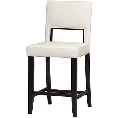 Linon Home Vega Counter Stool 24 White