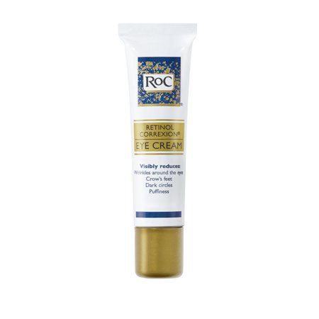 RoC Retinol Correxion Anti-Aging Eye Cream Treatment,.5 fl. (Best Drugstore Eye Cream For Dark Circles And Puffiness)
