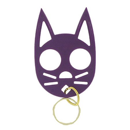 The Cat Personal Defense Keychain (Purple)