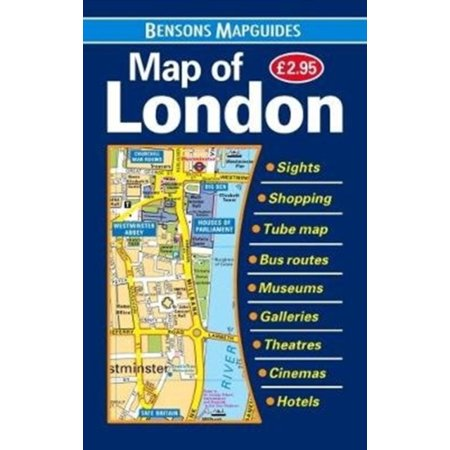 MAP OF LONDON (London Flughafen-shops)