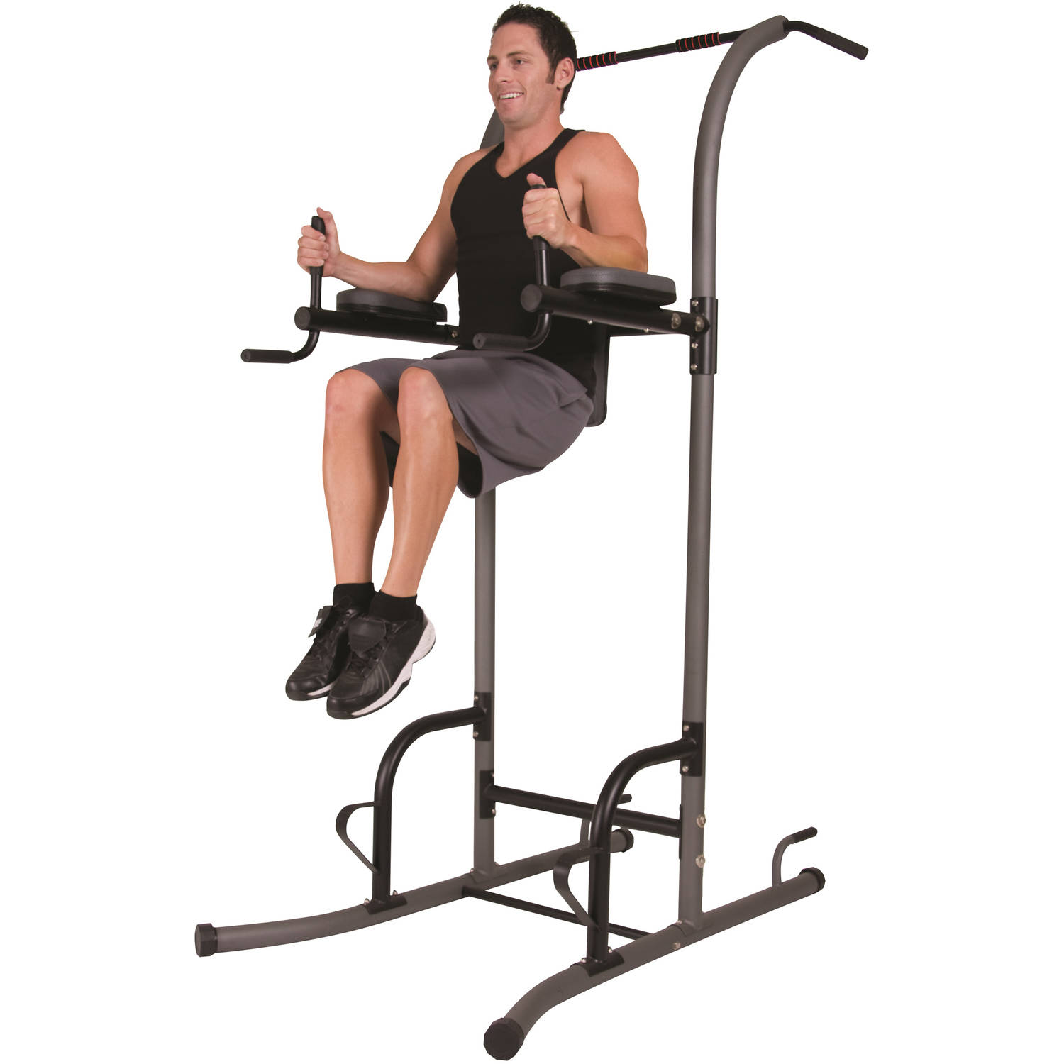 body power 5 station vkr power tower home gym for dips pull ups