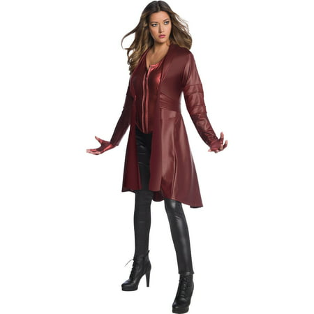 Scarlet Witch Avengers Endgame Secret Wishes Womens Costume - Size (Avengers Age Of Ultron Scarlet Witch Costume)