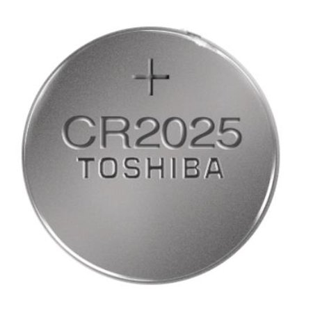 500-pack CR2025 Toshiba 3 Volt Lithium Coin Cell Batteries (On a Card) - image 1 of 1