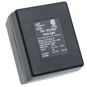 "zelco 10414 booklight ac adapter, 2.5"" x 3.7"" x 3.3"""