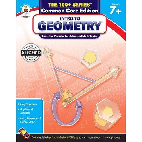Intro to Geometry, Grades 7 - 8: Essential Practice for Advanced Math Topics: Common Core Edition