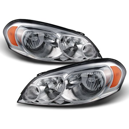 Fit 06-13 Chevy Impala Monte Carlo Headlights Light L+R 2006-2013 Replacement