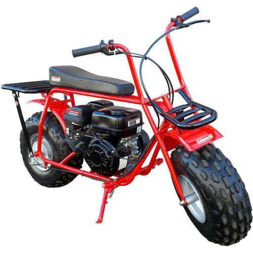 Coleman Powersports CT200U Trail200 Gas-Powered Mini Bike - Red