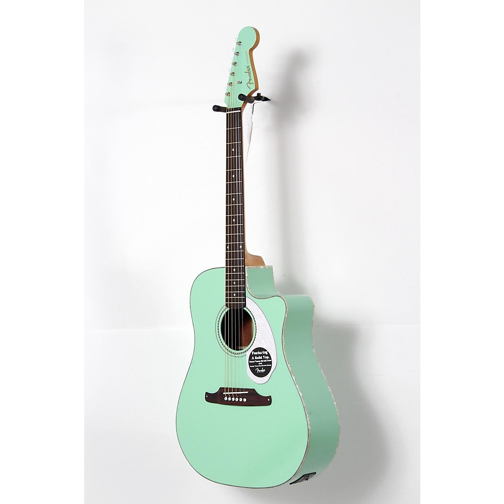 Fender California Series Sonoran Sce Cutaway Dreadnought Acoustic Electric Guitar Level 2 Surf Green 190839091659 Walmart Com Walmart Com