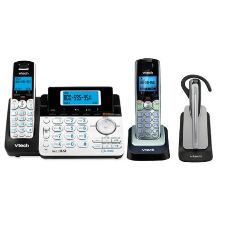 VTech DS6151 + DS6101 + IS600 Cordless Phone System W  2-Line Operation by