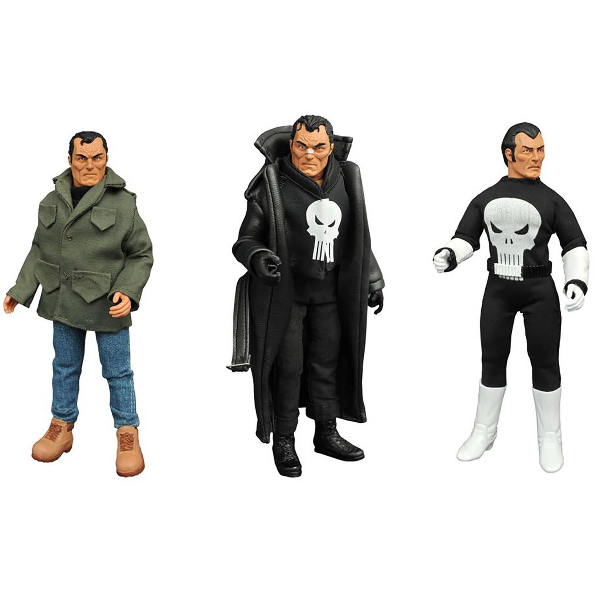 "Diamond Select Toys Marvel Punisher 8"" Retro Action Figure Set by DIAMOND SELECT TOYS LLC"