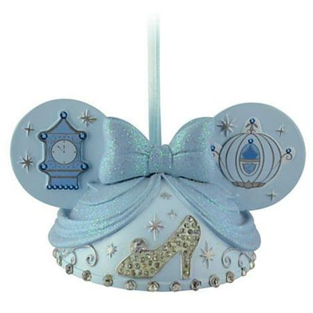 Disney Cinderella Mickey Mouse Ears Hat Ornament