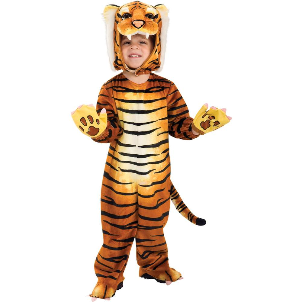 sc 1 st  Walmart & Silly Safari Tiger Kids Costume - Walmart.com