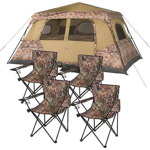 Bundle Image  sc 1 st  Walmart & Ozark Trail Realtree 8 Person Instant and Furniture Value Bundle ...