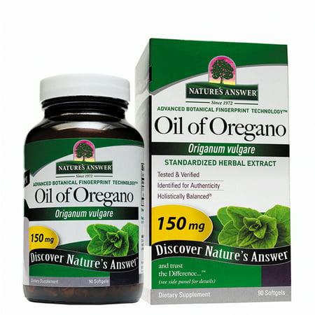 Nature's Answer Oil of Oregano Softgels, 90 Ct (Best Oregano Oil Supplement)