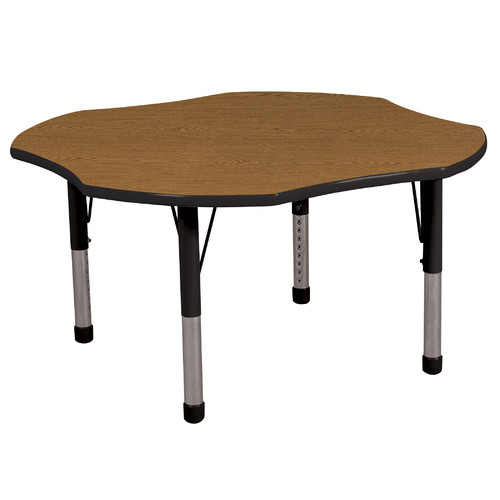 "ECR4Kids Clover Table 48"" Diameter"
