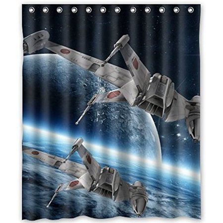 DEYOU Amazing Science Star Wars Shower Curtain Polyester Fabric Bathroom Size 60x72 Inches