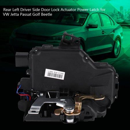 Mgaxyff 3B4 839 015A, Rear Left Door Lock Actuator,Rear Left Driver Side Door Lock Actuator Power Latch for VW Jetta Passat Golf Beetle 3B4839015A Continental Power Door Lock Actuator