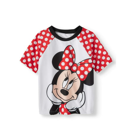 Minnie Mouse Rashguard (Toddler Girls)
