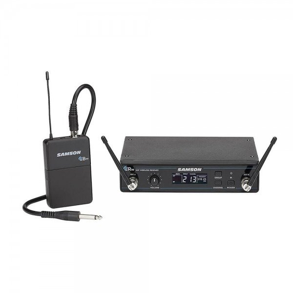 Samson Concert 99 Wireless Guitar System with GC32 Guitar Cable Band D SWC99BGT-D by