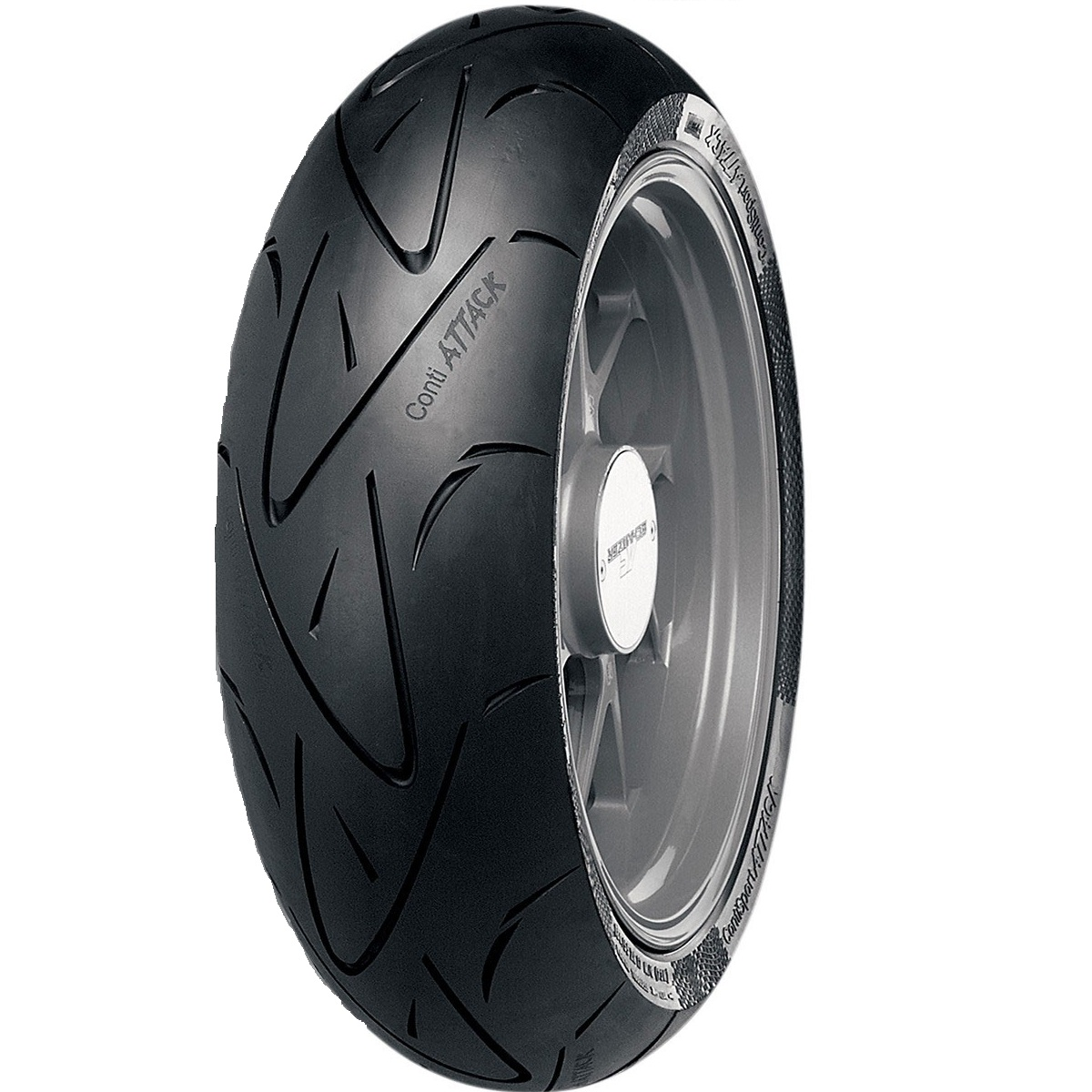 CONTINENTAL Sport Attack HyperSport Radial Tire Rear 180/55ZR17
