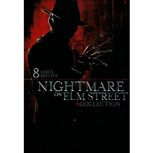 New Line Mc-nightmare On Elm Street [dvd/8pk/noes 1-7/movie Cash]