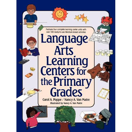 Language Arts Learning Centers for the Primary Grades (Paperback)
