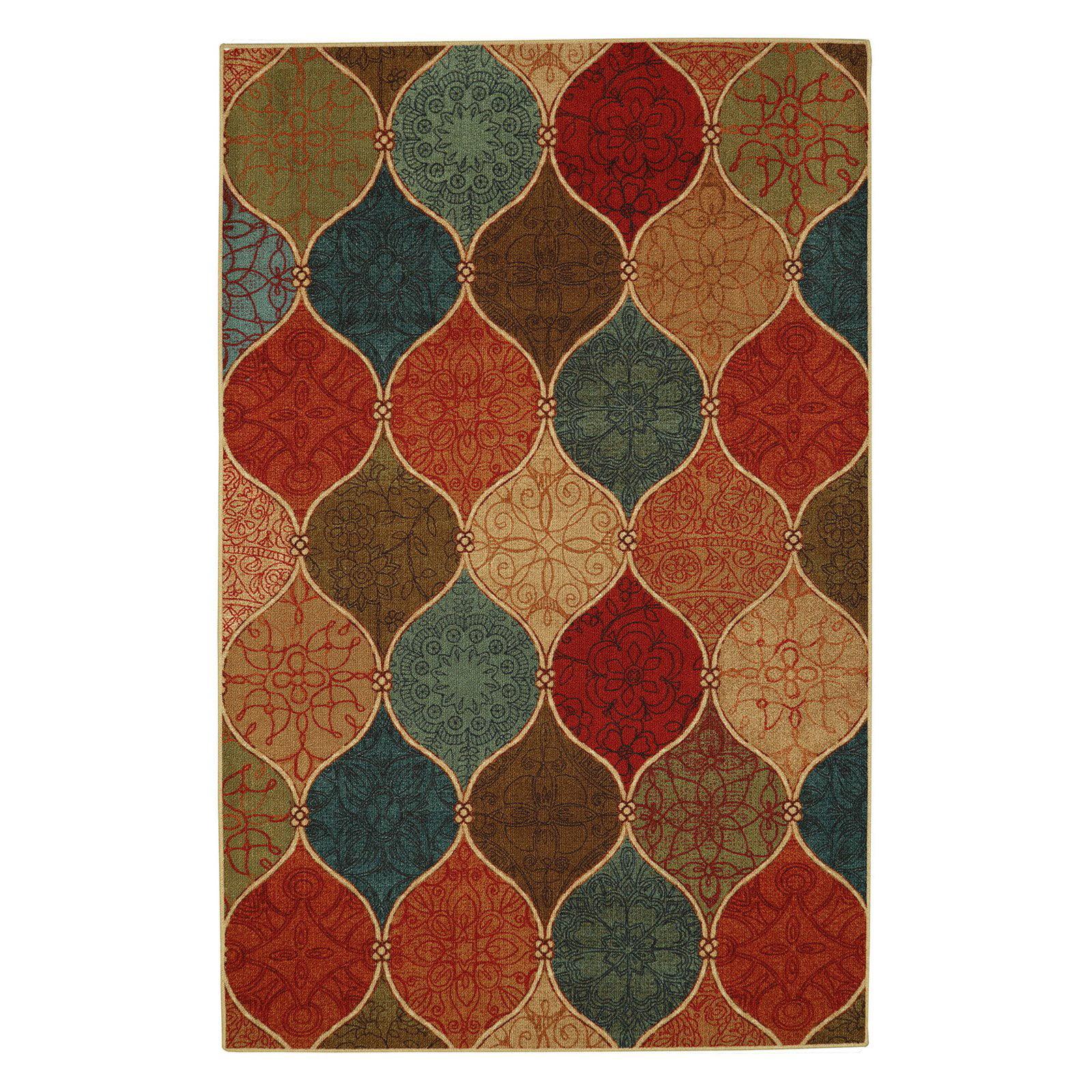 "Mohawk Soho Riza Tile Fret Multi Area Rug (7' 6""x10') by Mohawk Home"