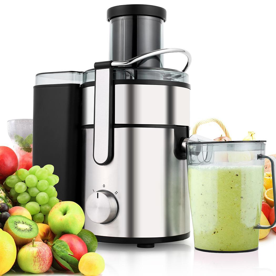 Black Friday SALES 2.5L 1000W Stainless Steel Cutters Juice Extractor Juicer SMT by