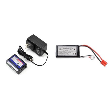 - HobbyFlip 11.1v 1000mAh LiPo Battery Rechargeable and Auto Shut-Off Charger for Walkera Master CP