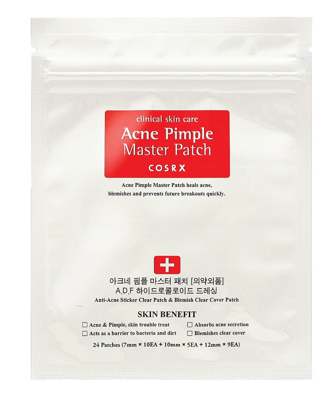 Patch Cosrx Akne Pimple Master (24 ct)