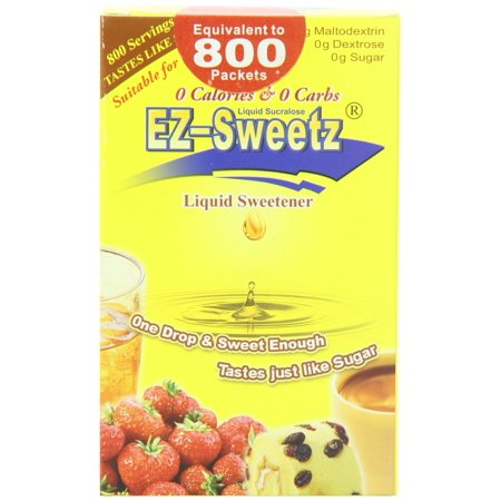 Sweet Solutions EZ Sweetz  Liquid Sweetener, 2 oz