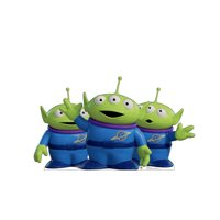 Aliens (from Disney's Toy Story 4) Cardboard Stand-Up, 30in