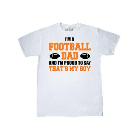 I'm a football dad and I'm proud to say that's my boy
