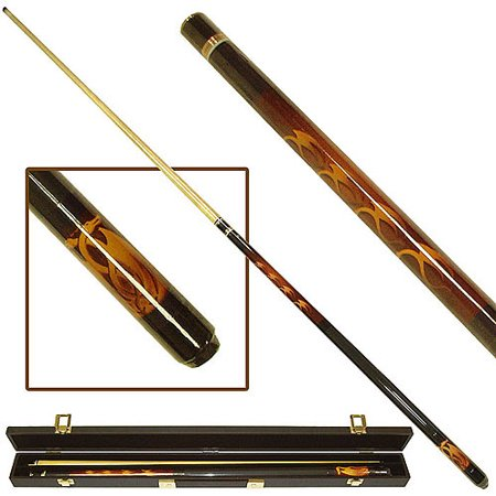 Ivory Pool Cue - Fantasy Dragon Billiard Pool Cue with Case