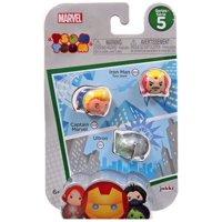 Tsum Tsum Series 5 Iron Man, Captain Marvel & Ultron Minifigure 3-Pack