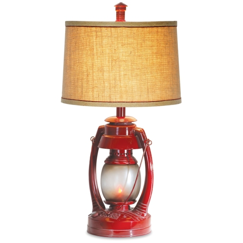 "Vintage Direct 26""H Vintage Lantern Table Lamp"