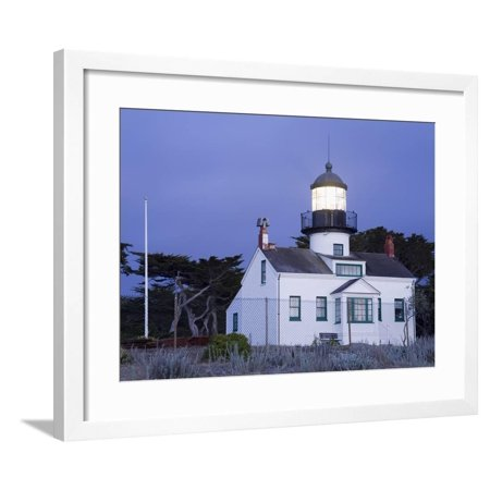 Point Pinos Lighthouse - Point Pinos Lighthouse, Pacific Grove, Monterey County, California, United States of America, North Framed Print Wall Art By Richard Cummins