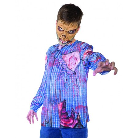 Photo Real Zombie Top Monster Horror Boys Halloween Costume - Large - Halloween Horror Ideas