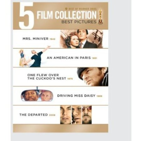 Best Of Warner Bros. 5 Film Collection: Best Pictures - Mrs. Miniver / An American In Paris / One Flew Over The Cuckoo's Nest / Driving Miss Daisy / The Departed