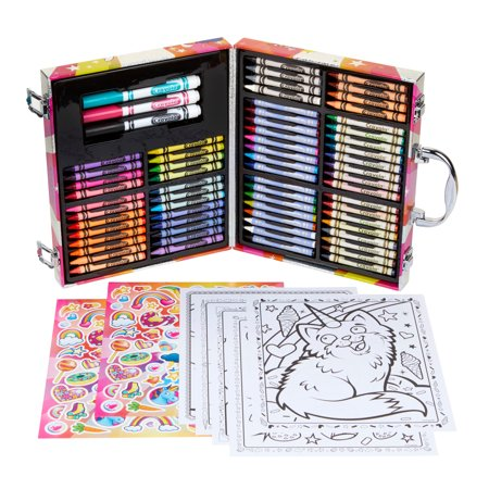 Crayola Uni-Creatures Mini Art Case With 100+ - Crayola Sets
