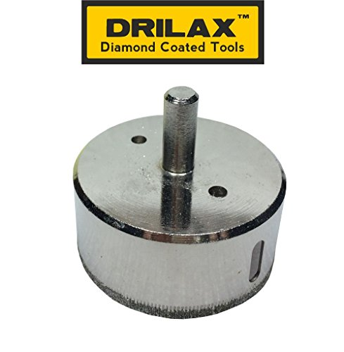 Drilax 2 1 2 Inch Diamond Tipped Drill Bit Hole Saw For