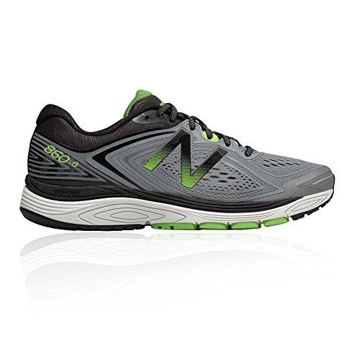 New Balance M860GG8: 860V8 Steel Energy Lime Black Mens Sneaker by New Balance