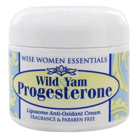 Progesterone Cream Pump (Wise Women Essentials Wild Yam Progesterone Cream, 2 Oz )