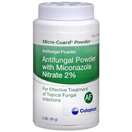 Antifungal Micro-Guard  2% Strength Powder 3 oz. Shaker Bottle 2 Count