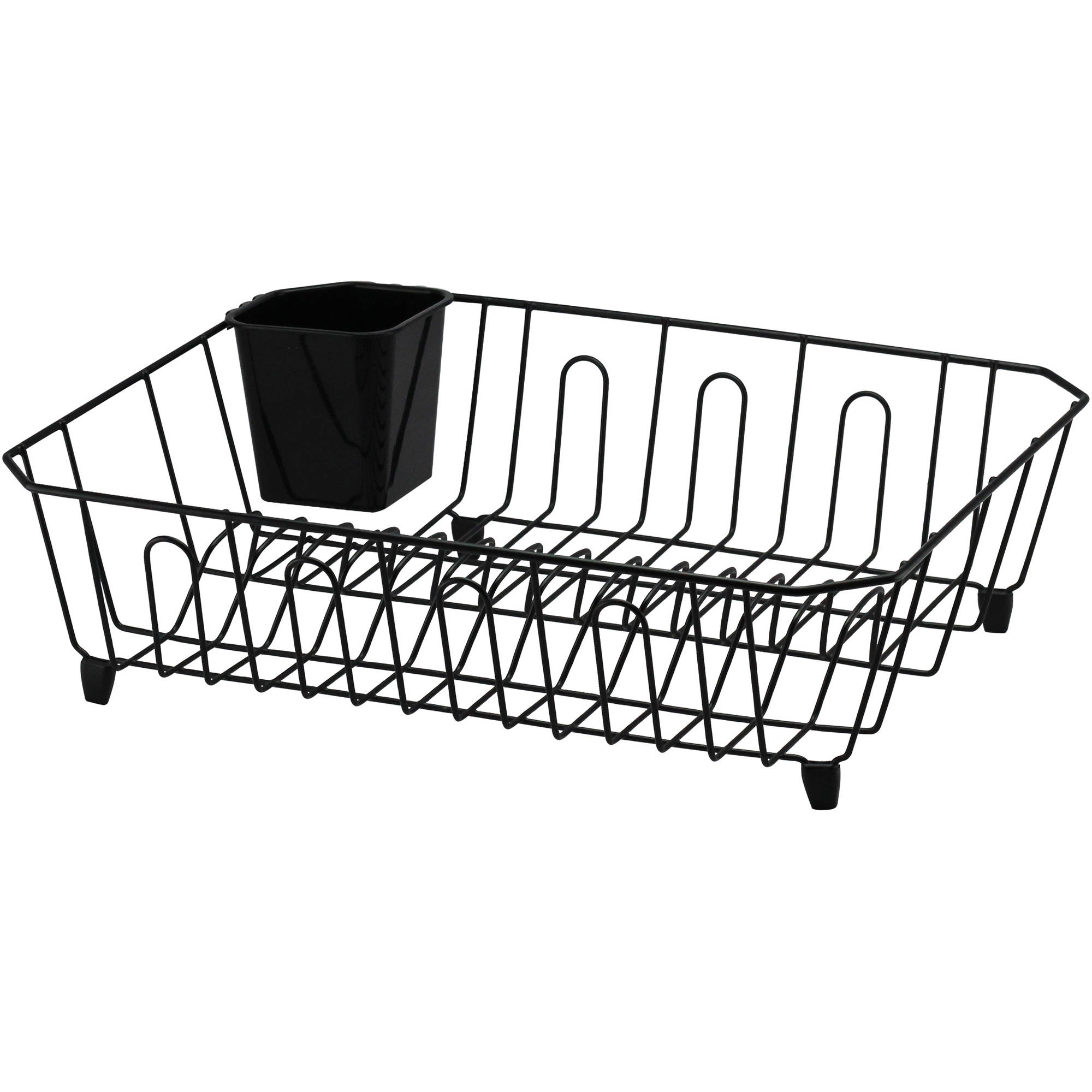 Real Home Large Dish Drainer, Black