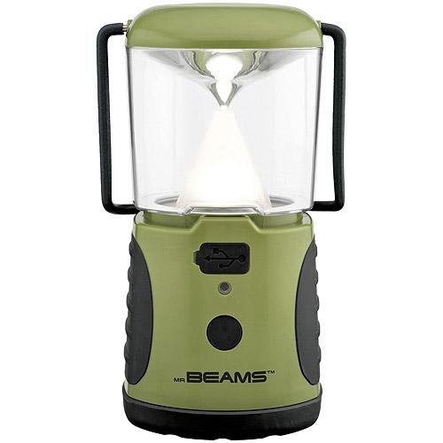 Mr. Beams MB470 UltraBright 260-Lumen LED Lantern with USB Charging Port, Green