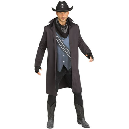 Evil Outlaw Men's Adult Halloween Costume, One Size, (44)